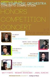 MSU Honors Concert